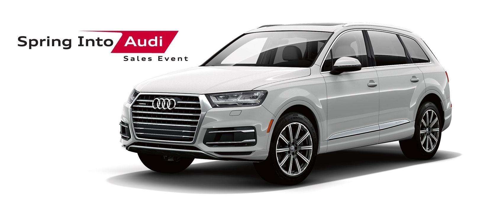 Spring Into Audi Sales Event – Q7