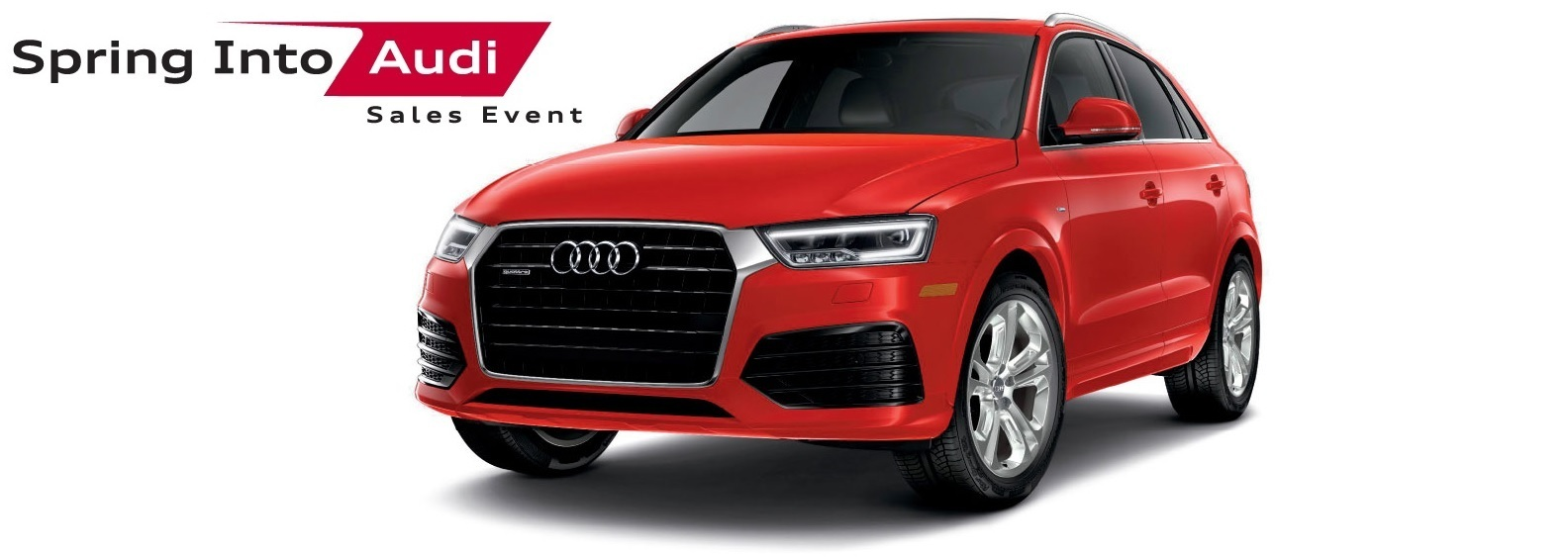 Spring Into Audi Sales Event – Q3