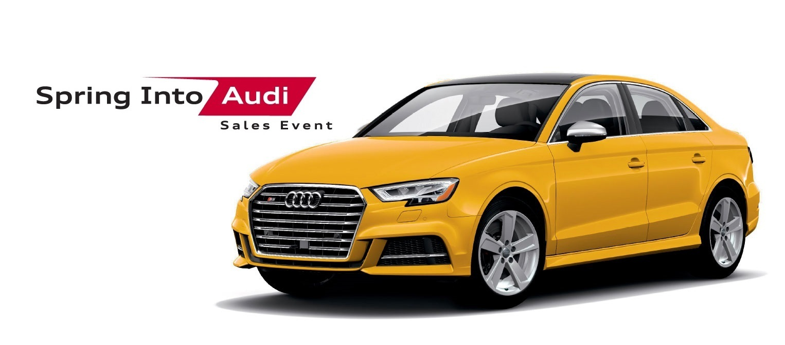 Spring Into Audi Sales Event – A3/S3