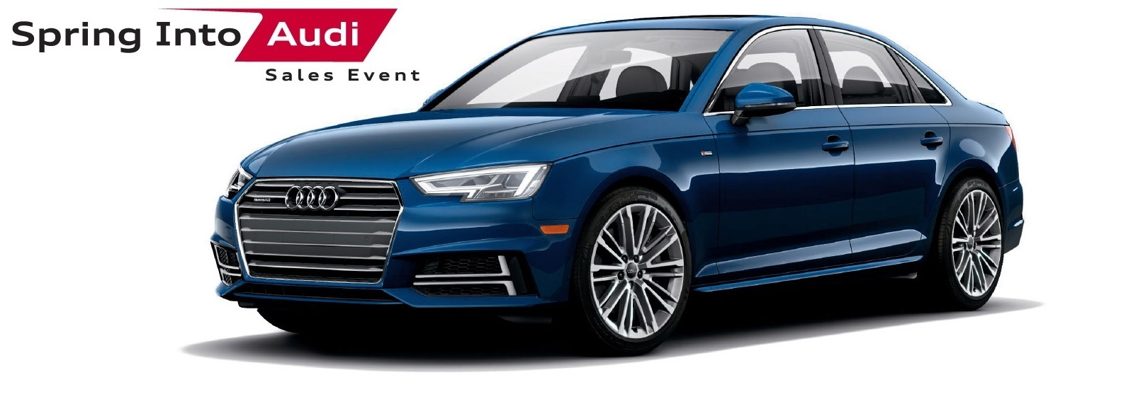 Spring Into Audi Sales Event – A4