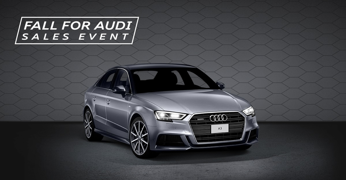 Fall for Audi Sales Event – A3 3-Day Sales Event