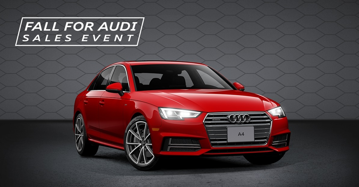 Fall for Audi Sales Event – A4/S4 3-Day Sales Event