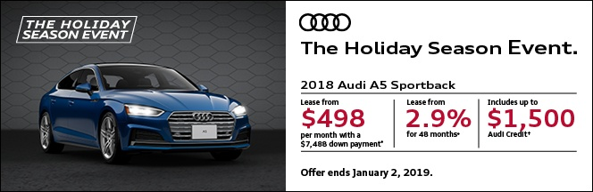 The Holiday Season Event – A5 S5 Sportback