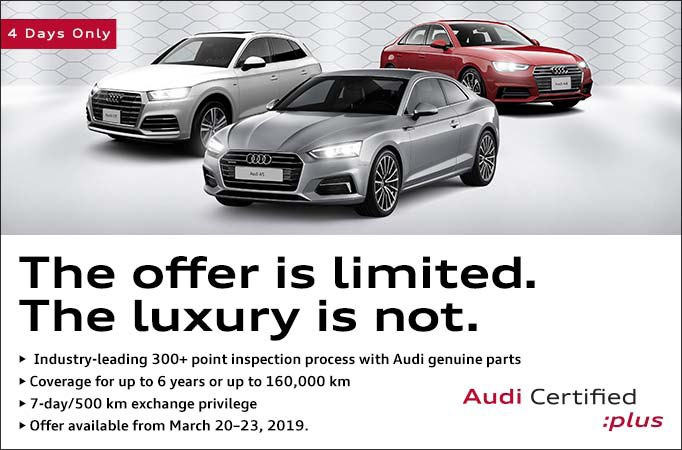 Audi Certified Pre-Owned 4 Day Sales Event