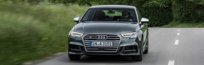 2019 A3/S3 and RS3 Sedan models