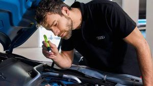 Audi Servie inspection