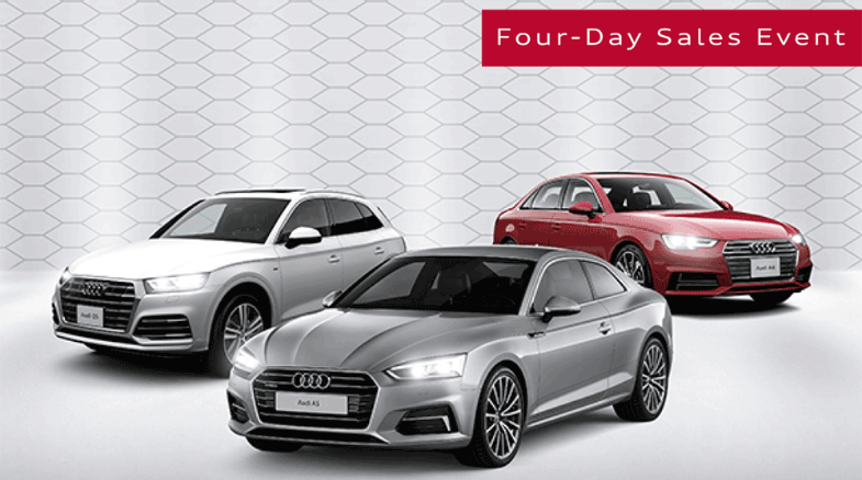 Audi Certified Pre-Owned – 4 Day Sales Event