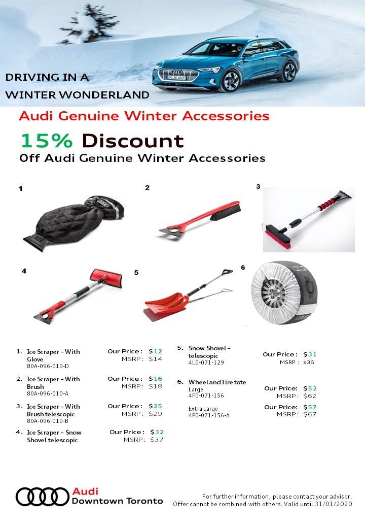 Audi Genuine Winter Accessories