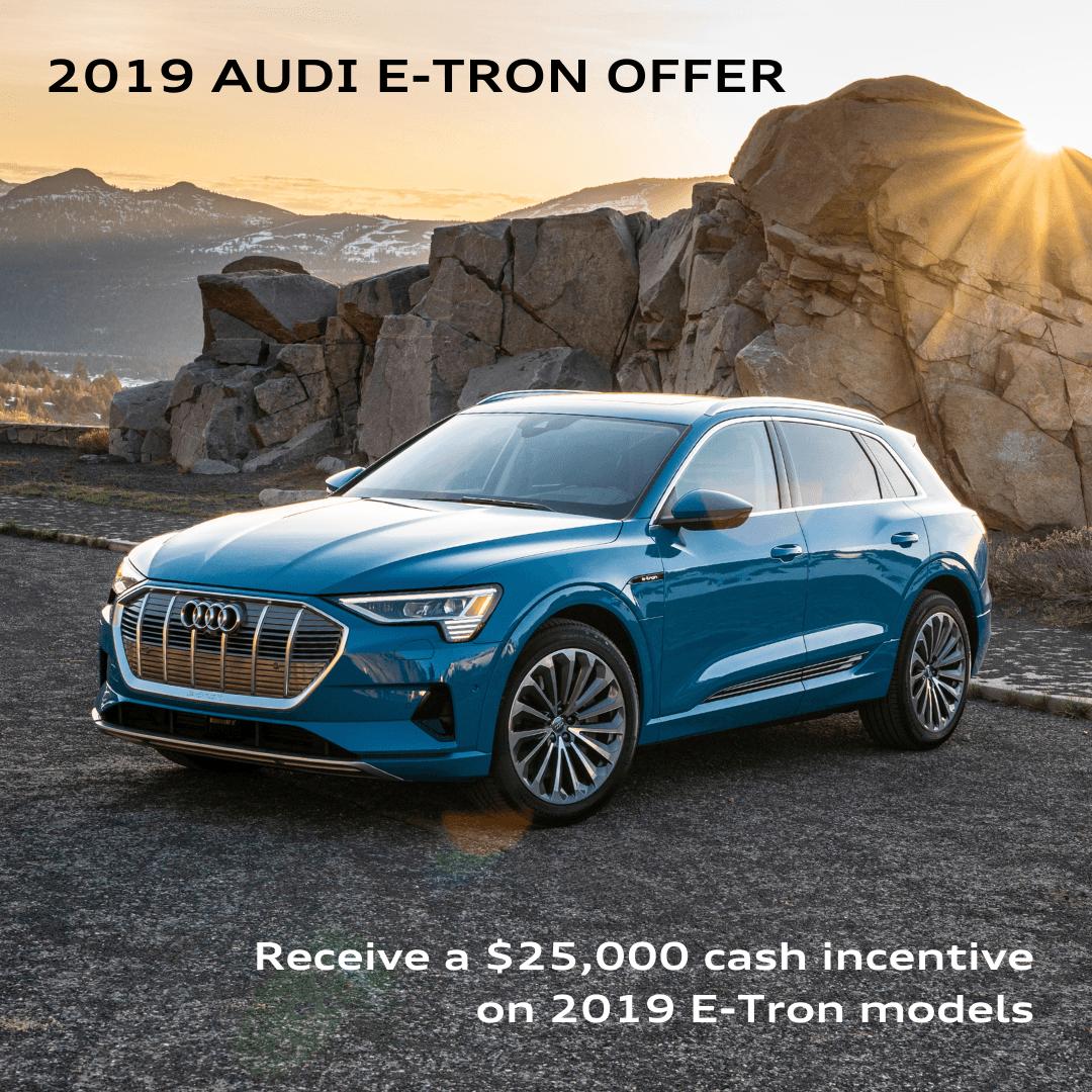 2019 Audi e-tron Special Offer