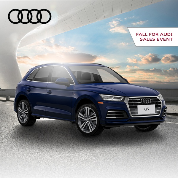 Fall for Audi Sales Event – Q5