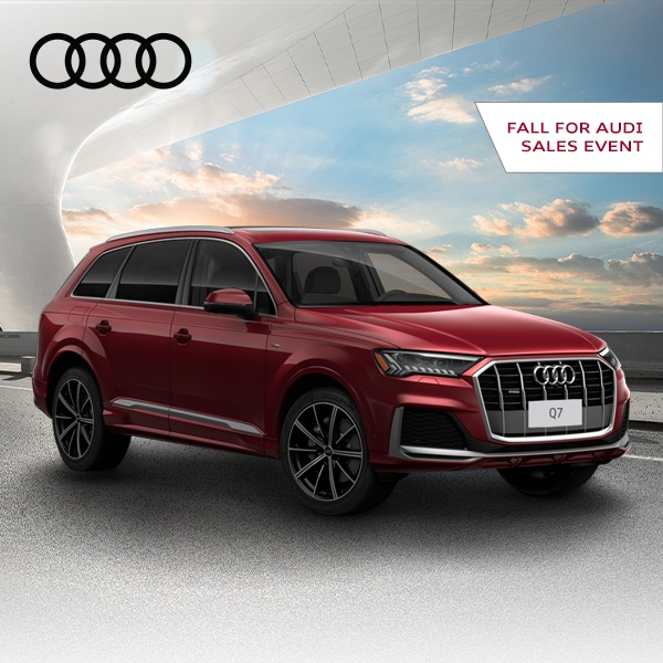 Fall for Audi Sales Event – Q7