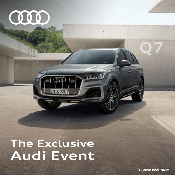 The Exclusive Audi Event – Q7