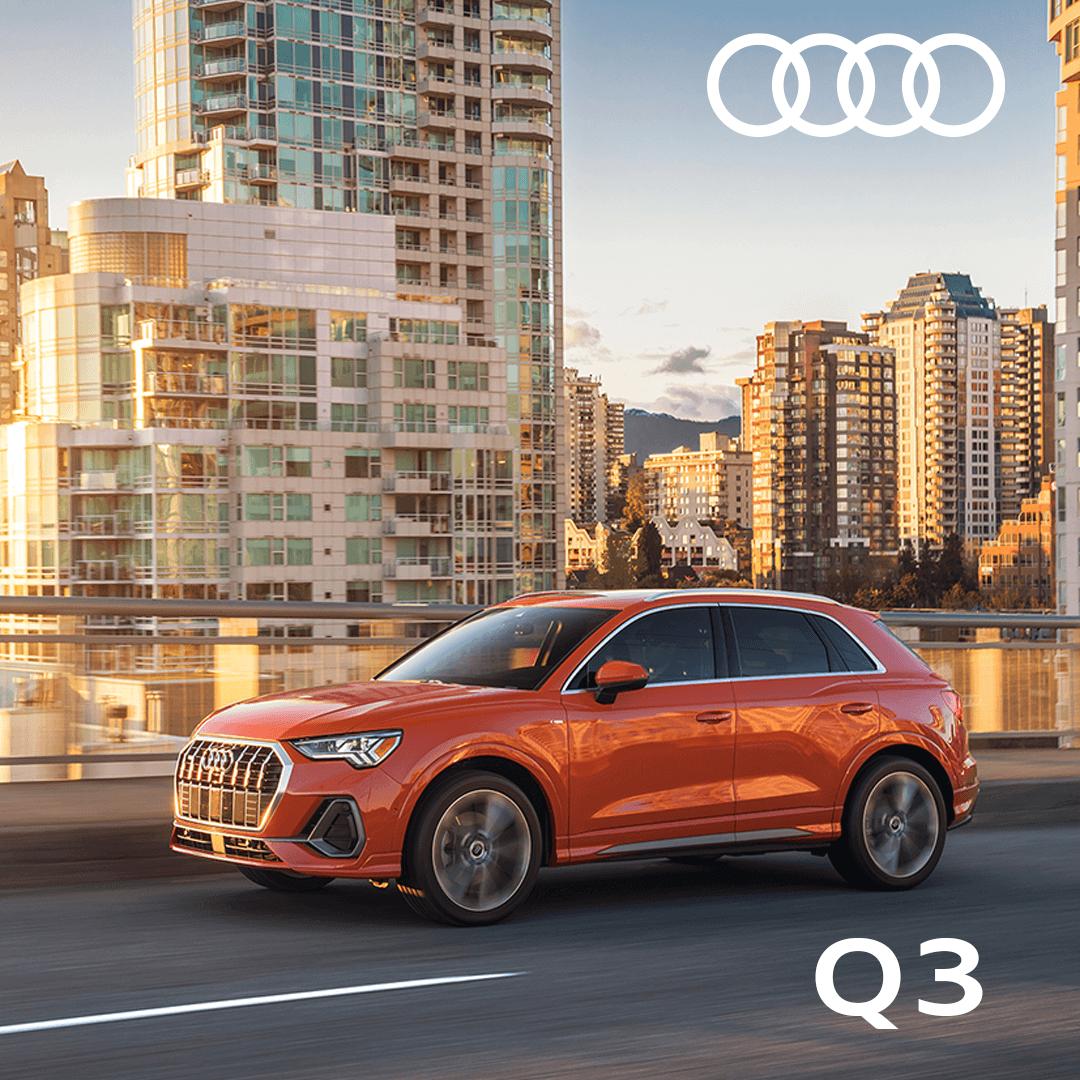 The Exclusive Audi Sales Event – Q3