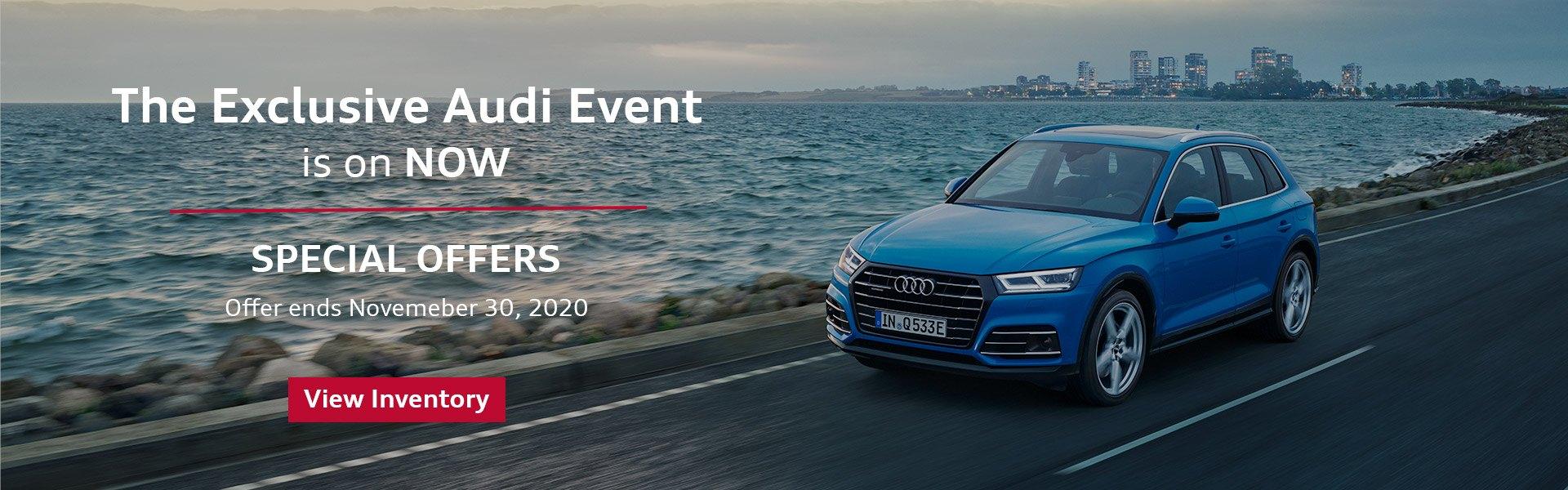 Audi Oct 2020 The Exclusive Audi Event