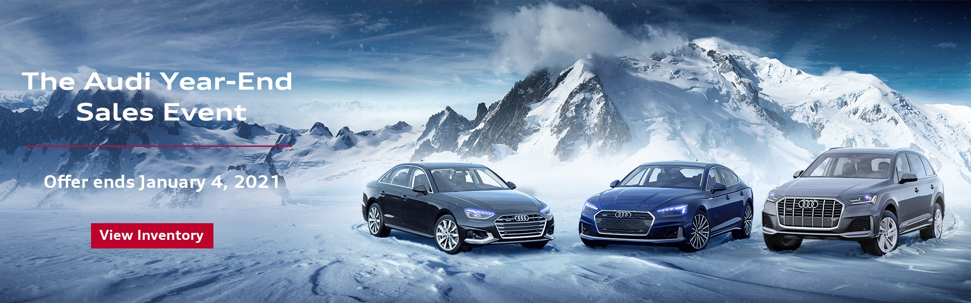 Audi Year-End Sales Event 2020