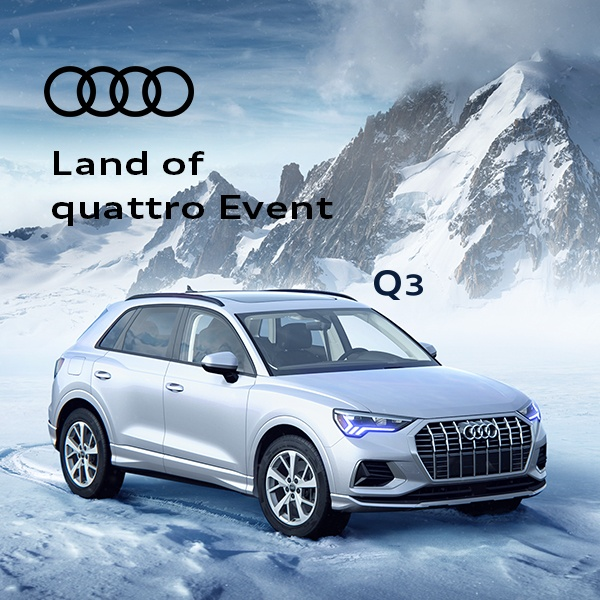 Land of quattro Event – Q3