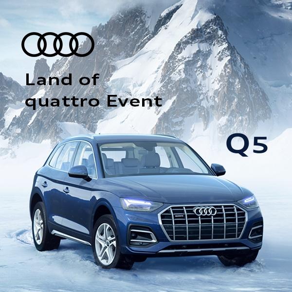 Land of quattro Event – Q5