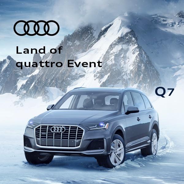 Land of quattro Event – Q7