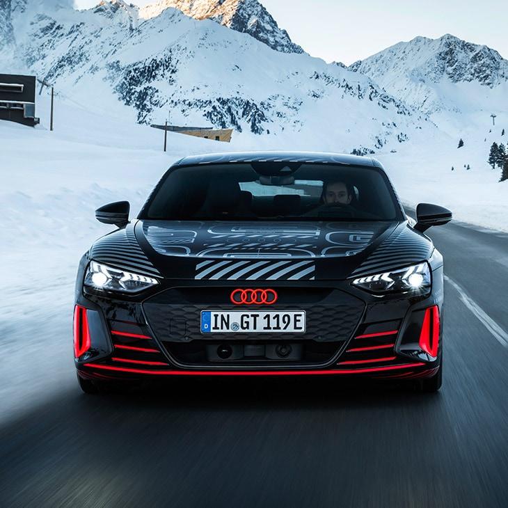 Audi e-Tron GT Front View