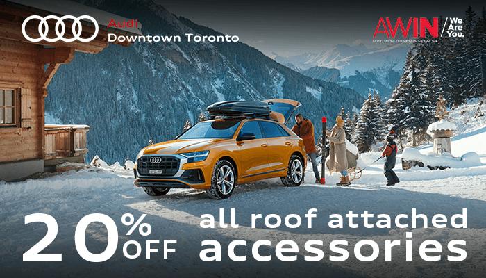 20% Off Audi Genuine Winter Sports Accessories