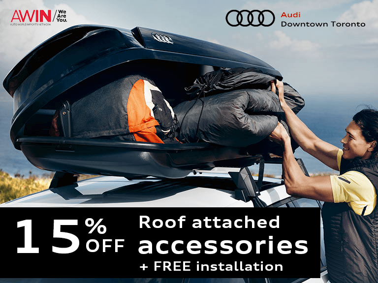 Audi Genuine Spring Sport Accessories with Free Installation