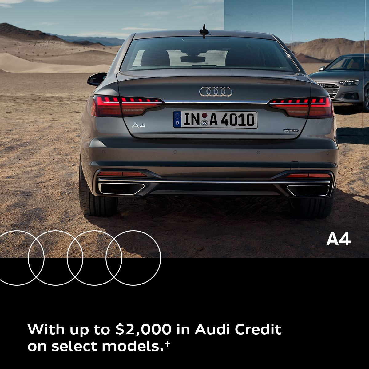 The Summer of Audi Event – A4